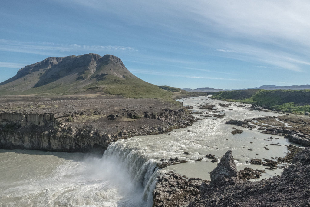 Þjófafoss Wasserfall