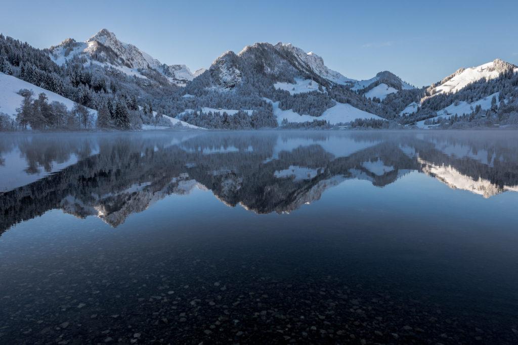 Spiegelbild am Schwarzsee