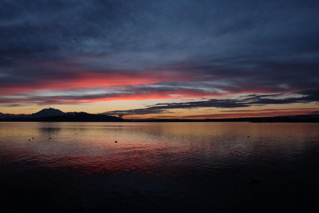 Sonnenuntergang Zugersee