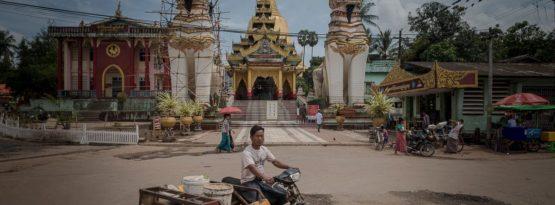 Tempel in Bago - Titelbild