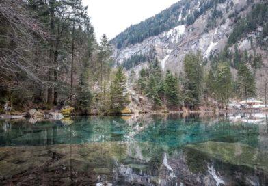 Blausee: Frische Luft & erfrischende Farben