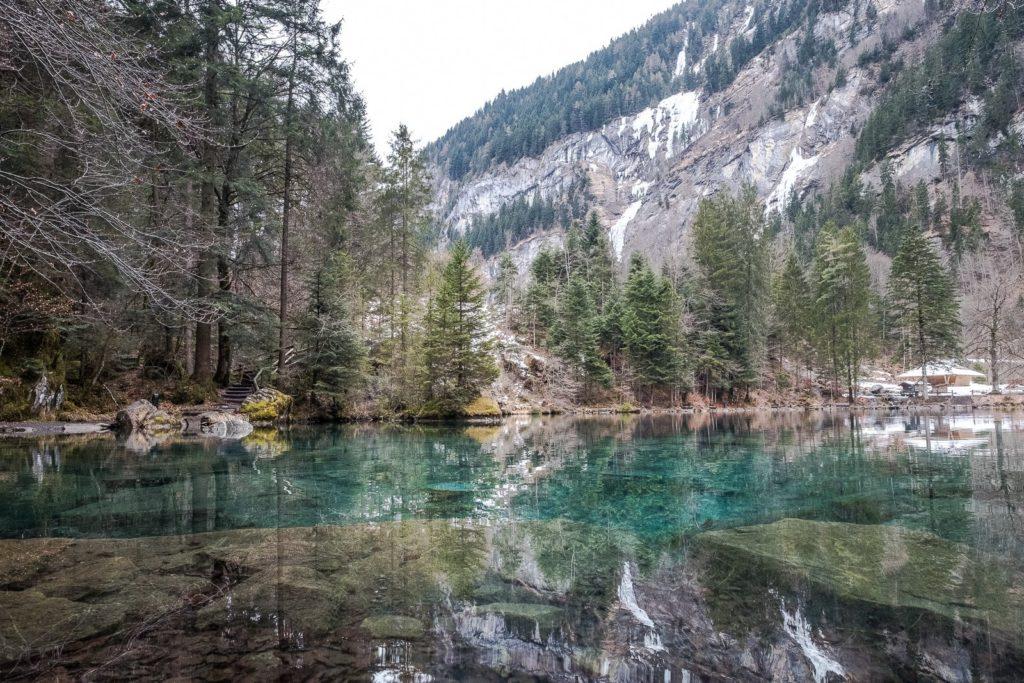 Bergsee Blausee
