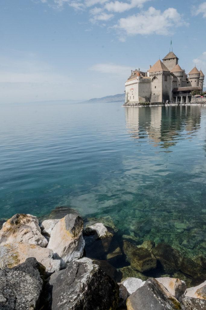 Chateau Chillon Lac Leman
