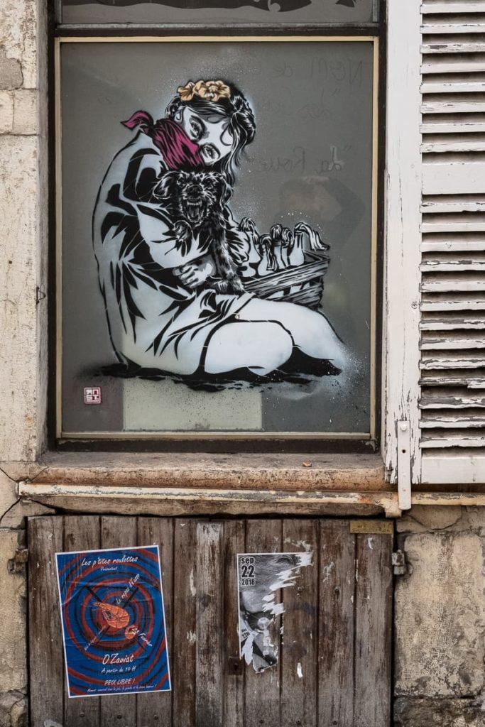 Dijon-Streetart