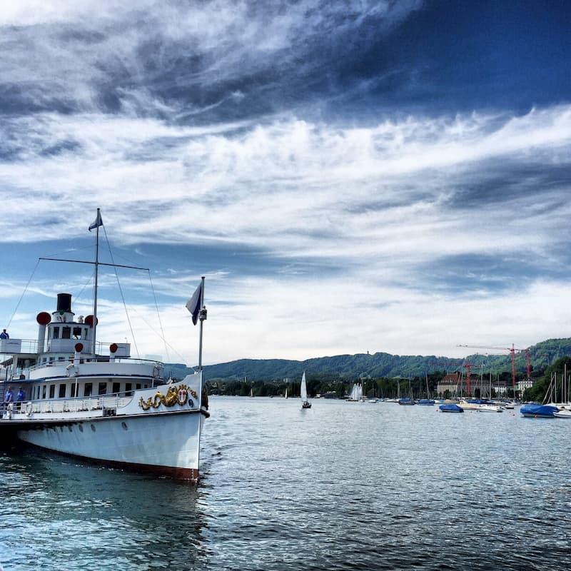 Kreuzfahrt Zürichsee