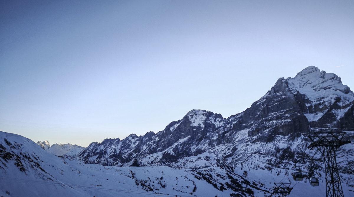 Grindelwald-Morgensicht