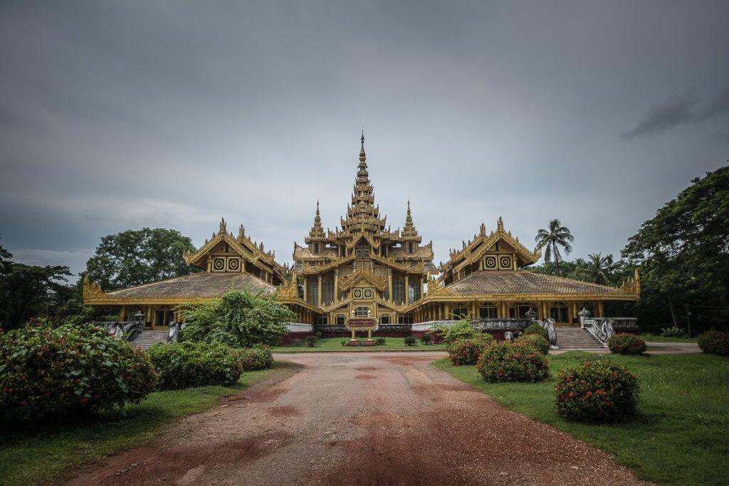 Kanbawzathadi-Palast
