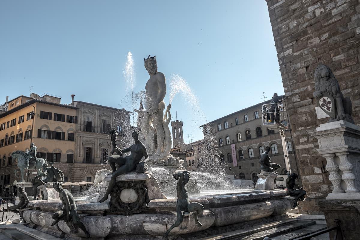 Neptunbrunnen Piazza della Signoria