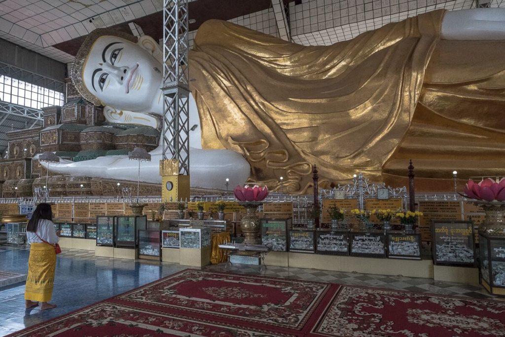 Shwethalyaung Buddah