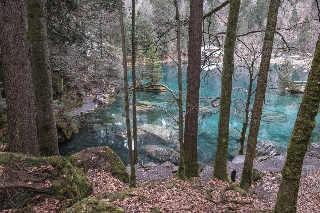Spaziergang Blausee