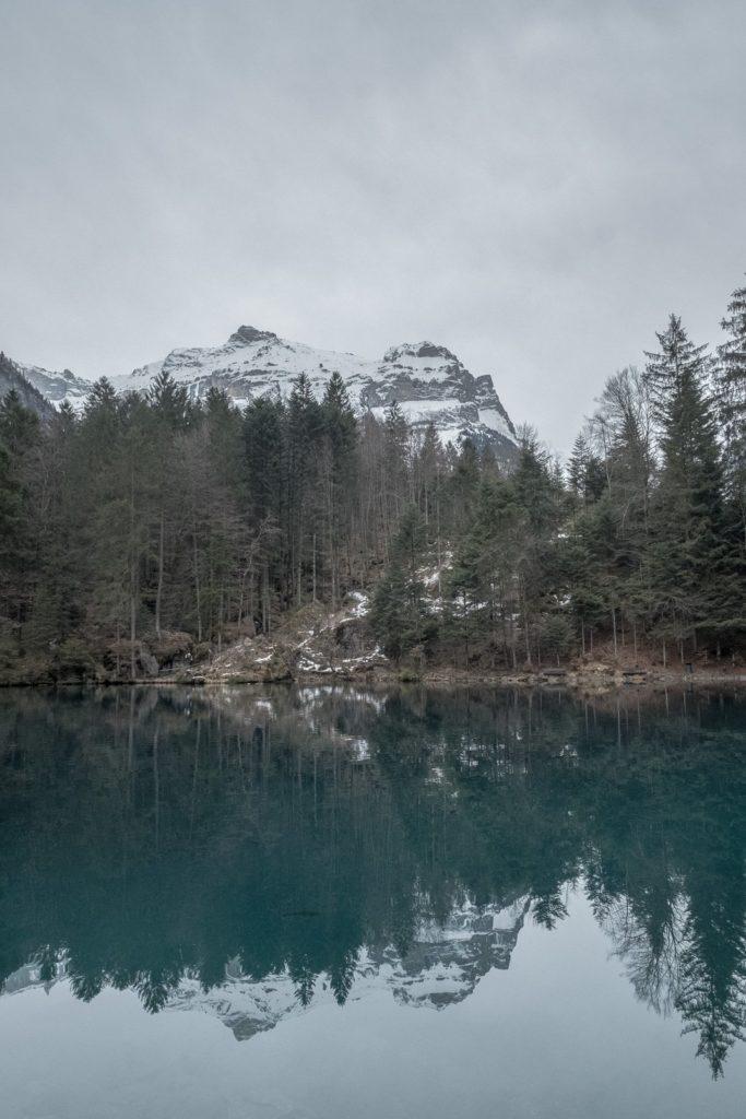 Spiegelung Blausee