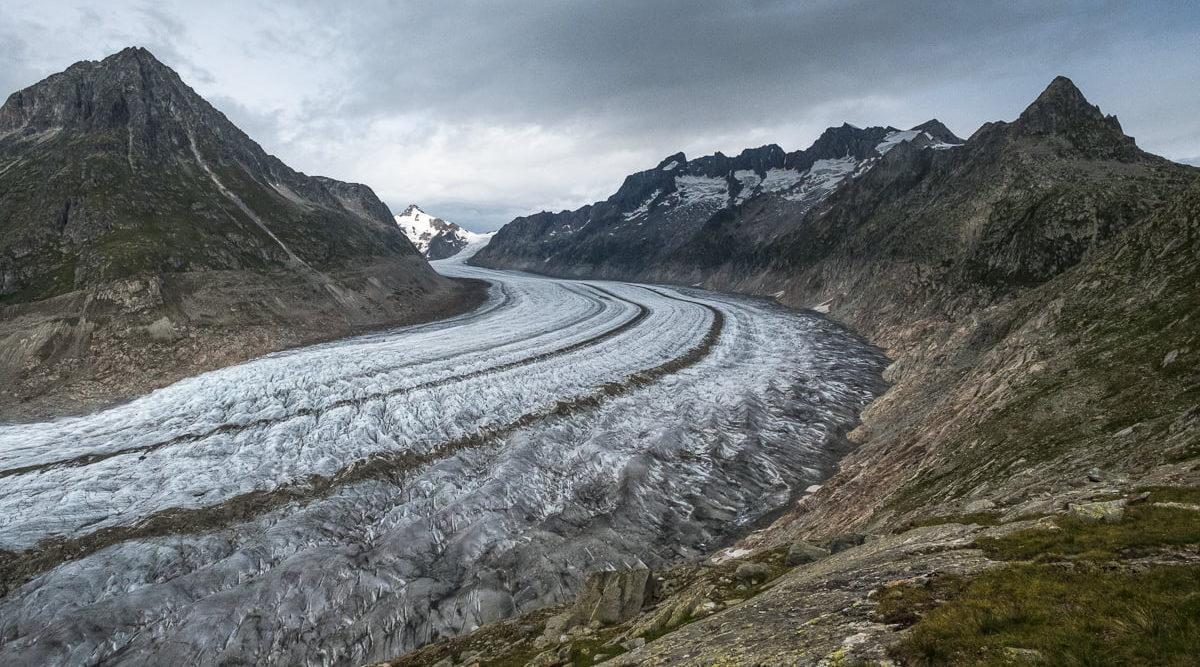 Aletsch Gletscher Wanderung