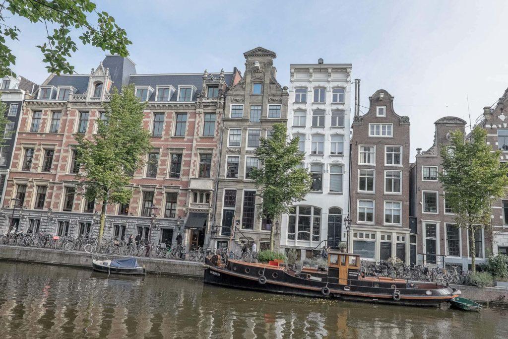 Grachten in Amsterdam (Tag)