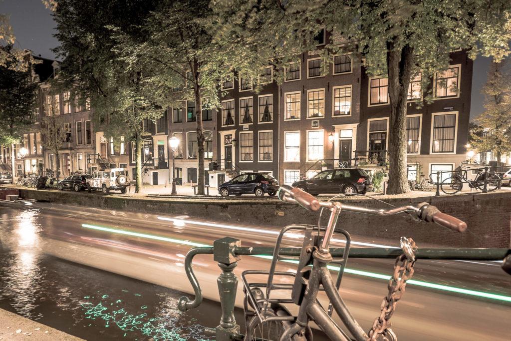 Nachtstimmung in Amsterdam