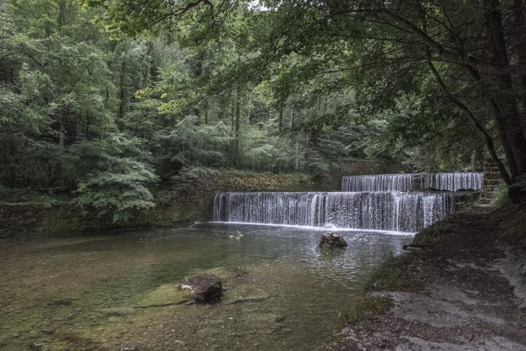 Wasserfälle der Areuse