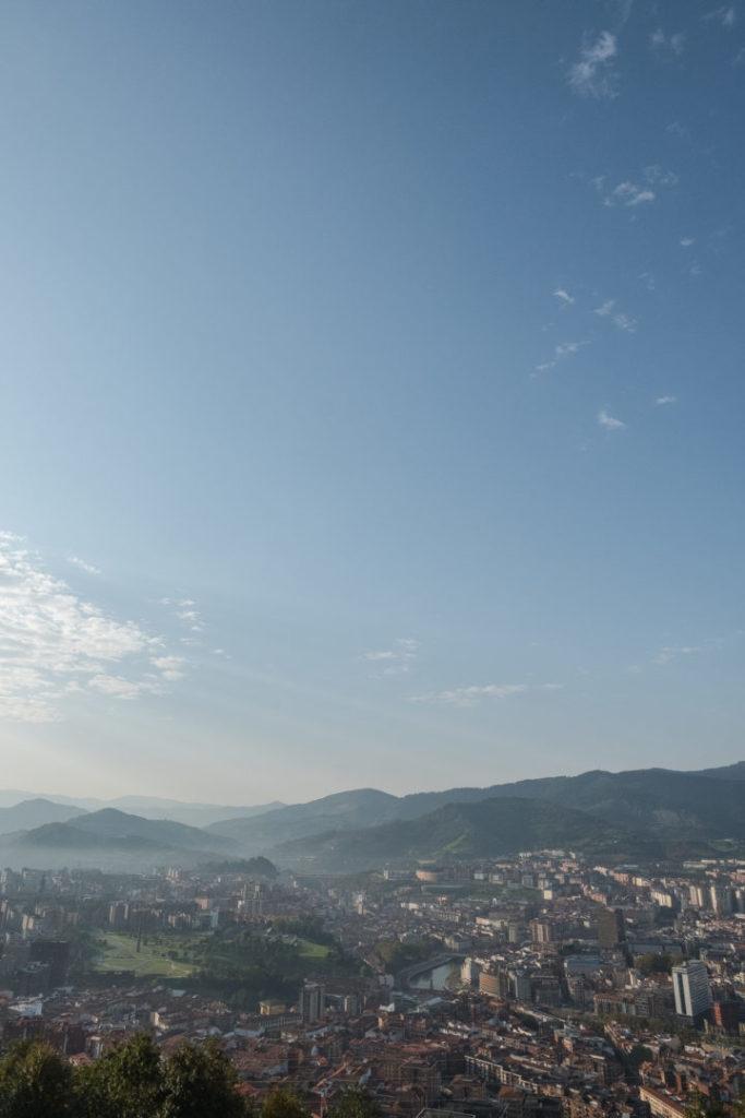 Sicht auf Bilbao
