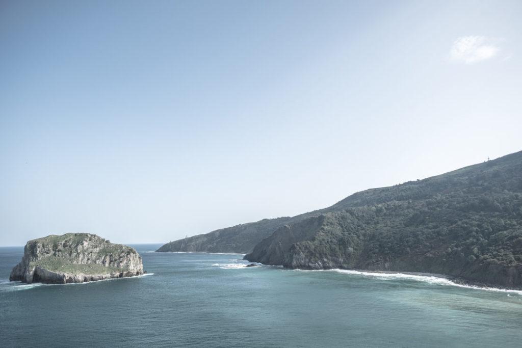 Baskenland Küste