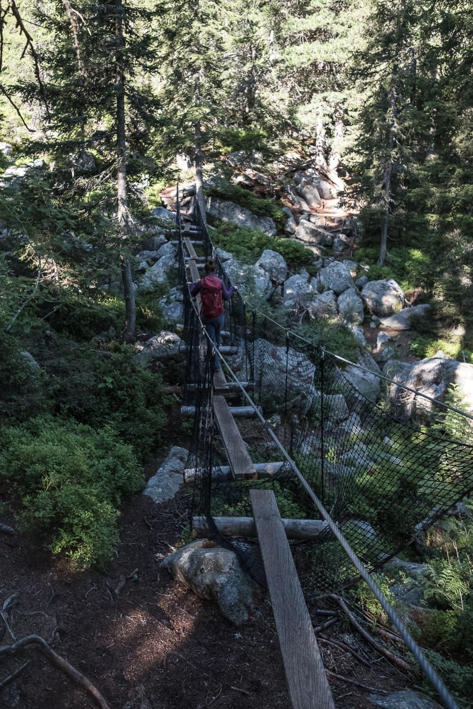Aufstieg zum Bitabergh See