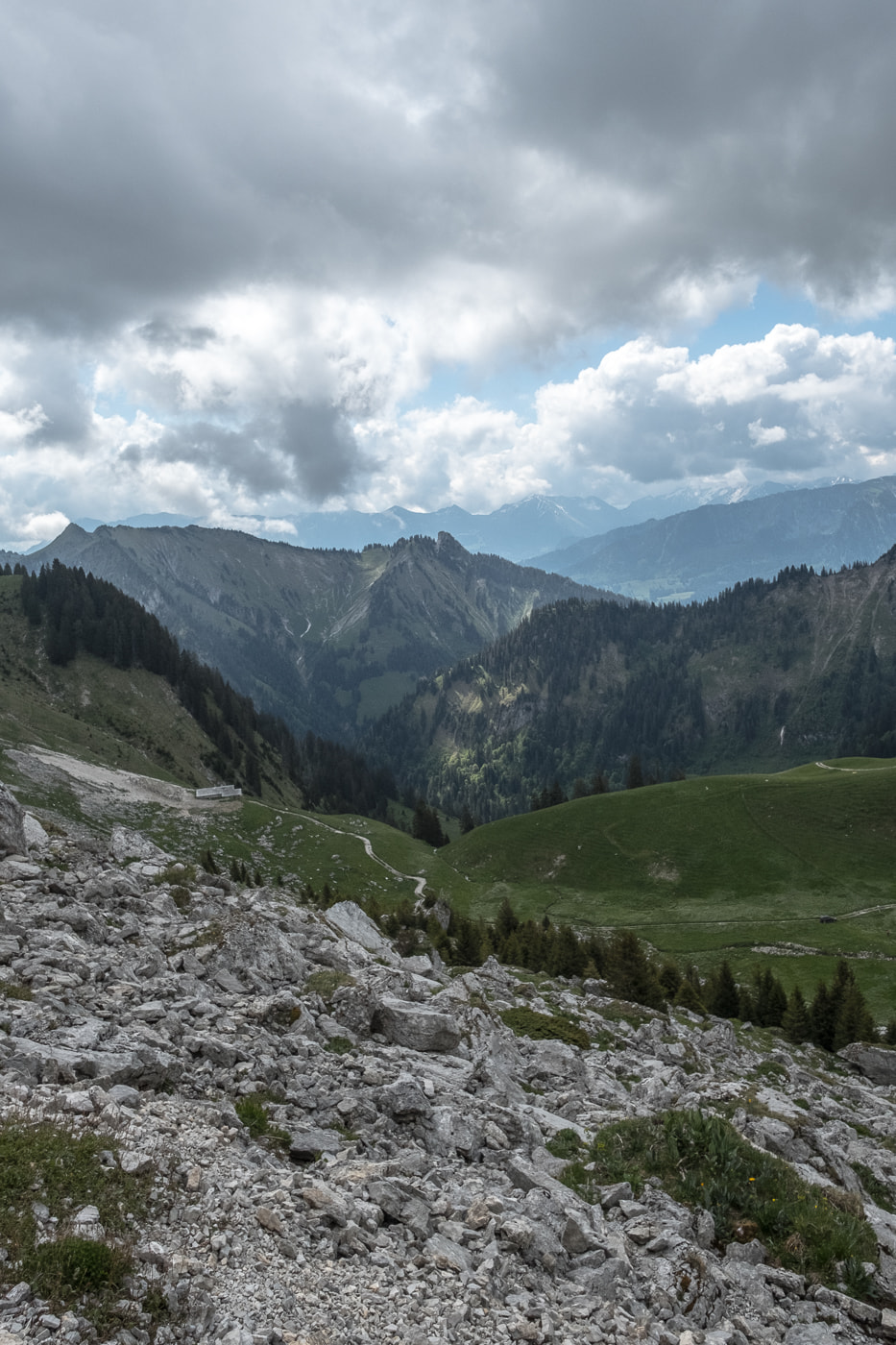 ausblick naturpark gantrisch