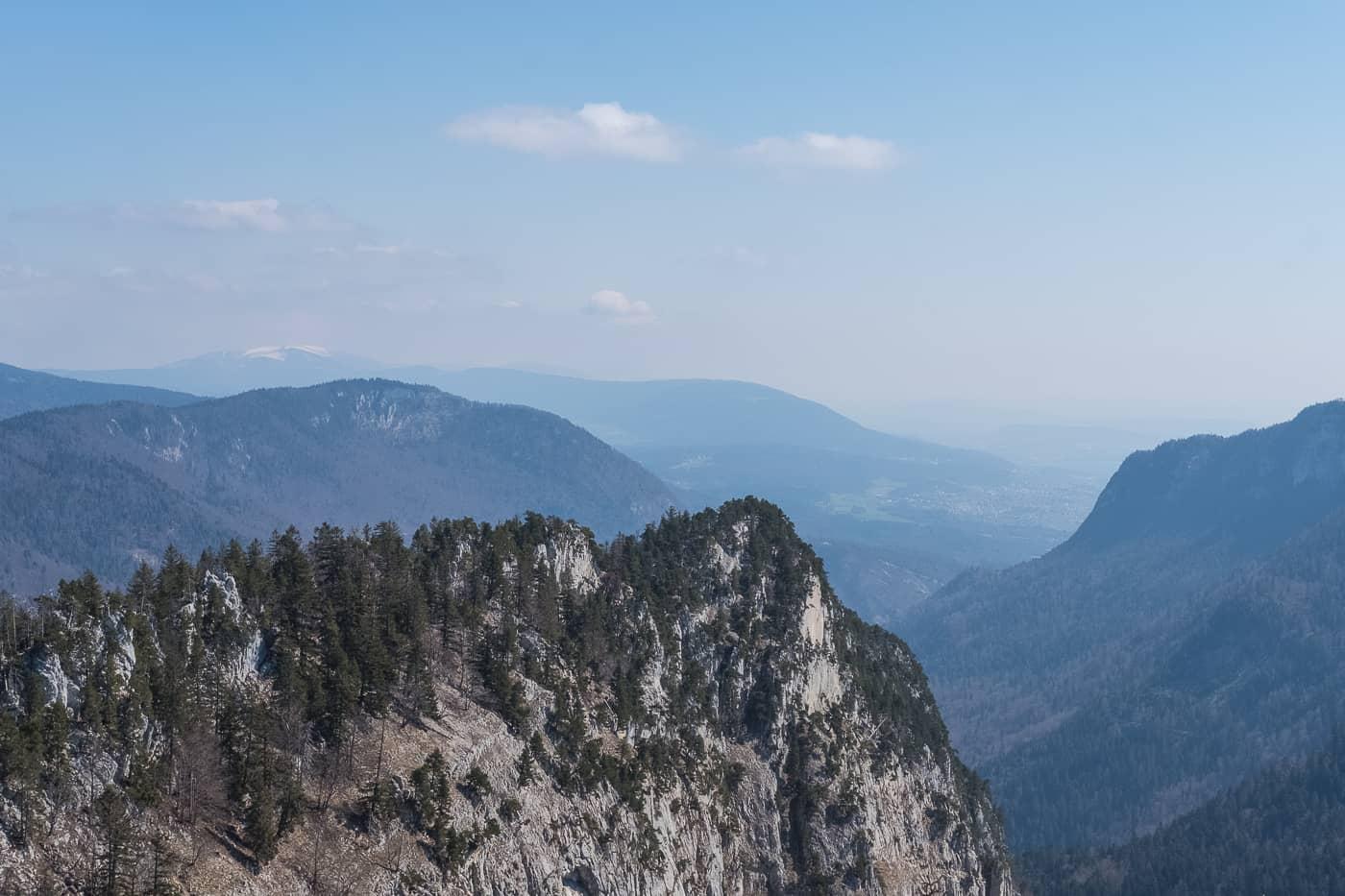 Aussicht Neuenburger Jura