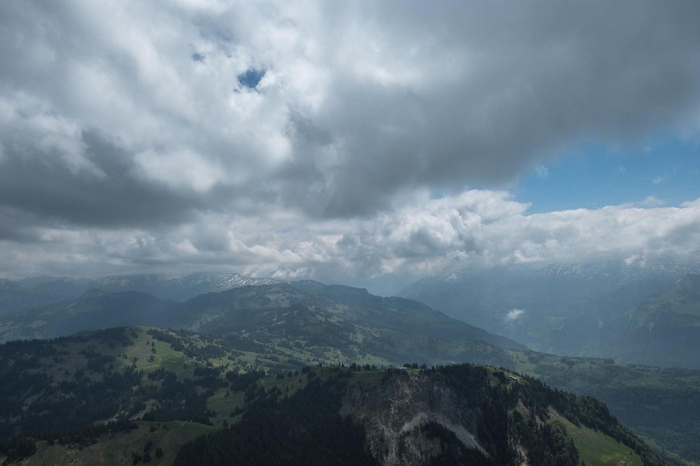 Aussicht Unterland Schwyz