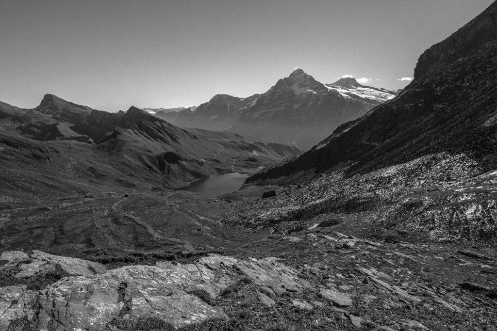 Bachalpsee und die Berge