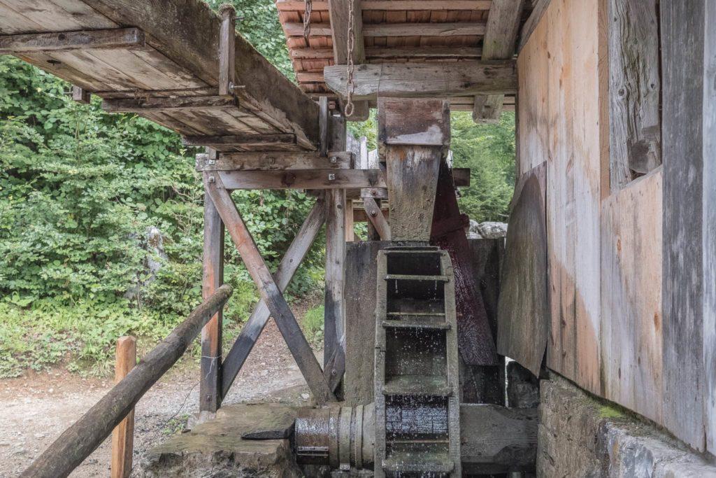 Wassermühle Ballenberg