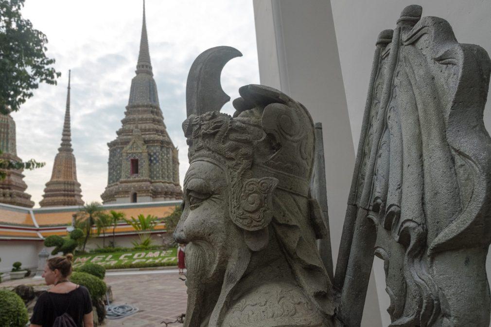 Steinskulpturen Wat Pho