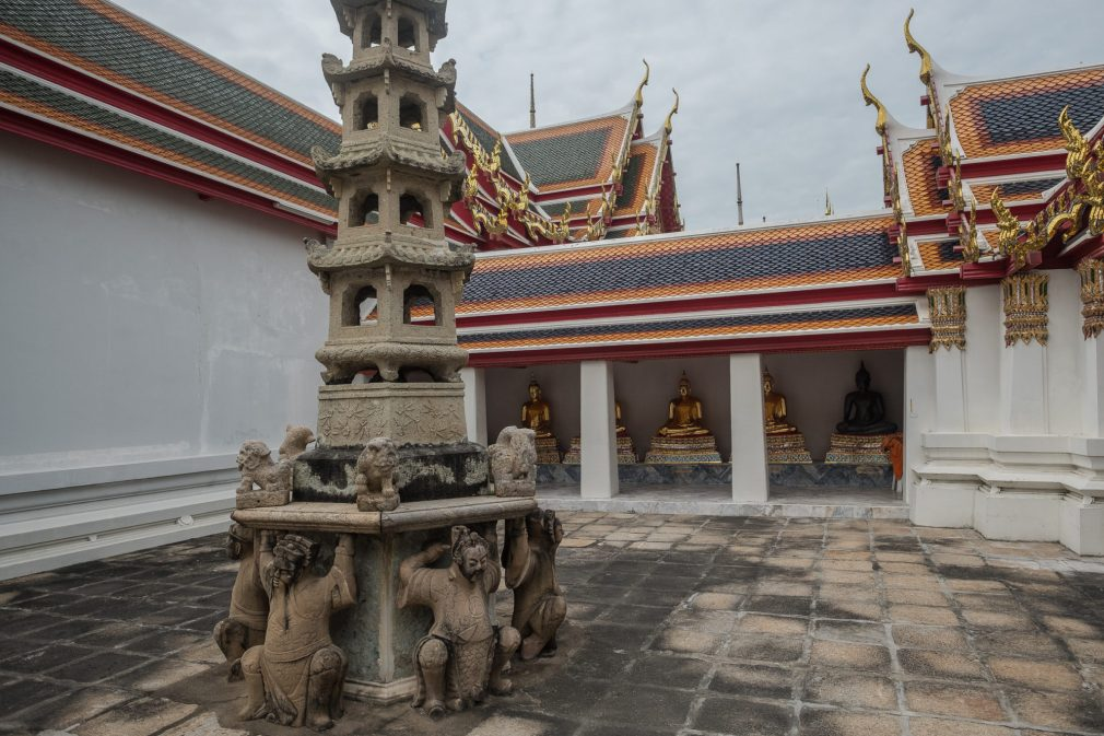 Bangkok Wat Pho Innenhof