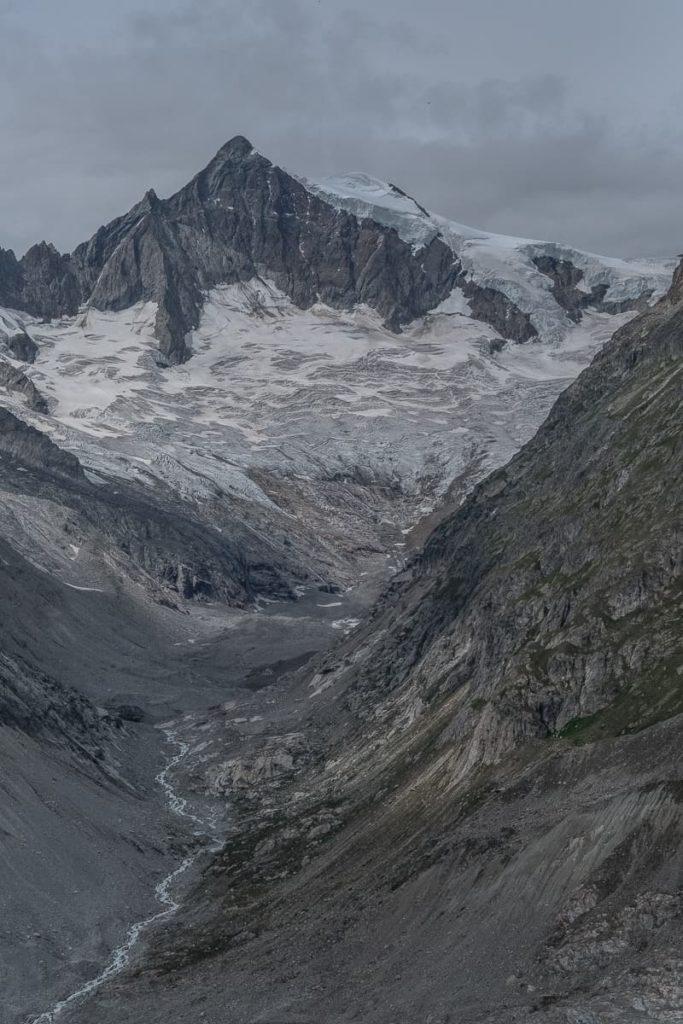 Bergspitze rund um den Aletschgletscher