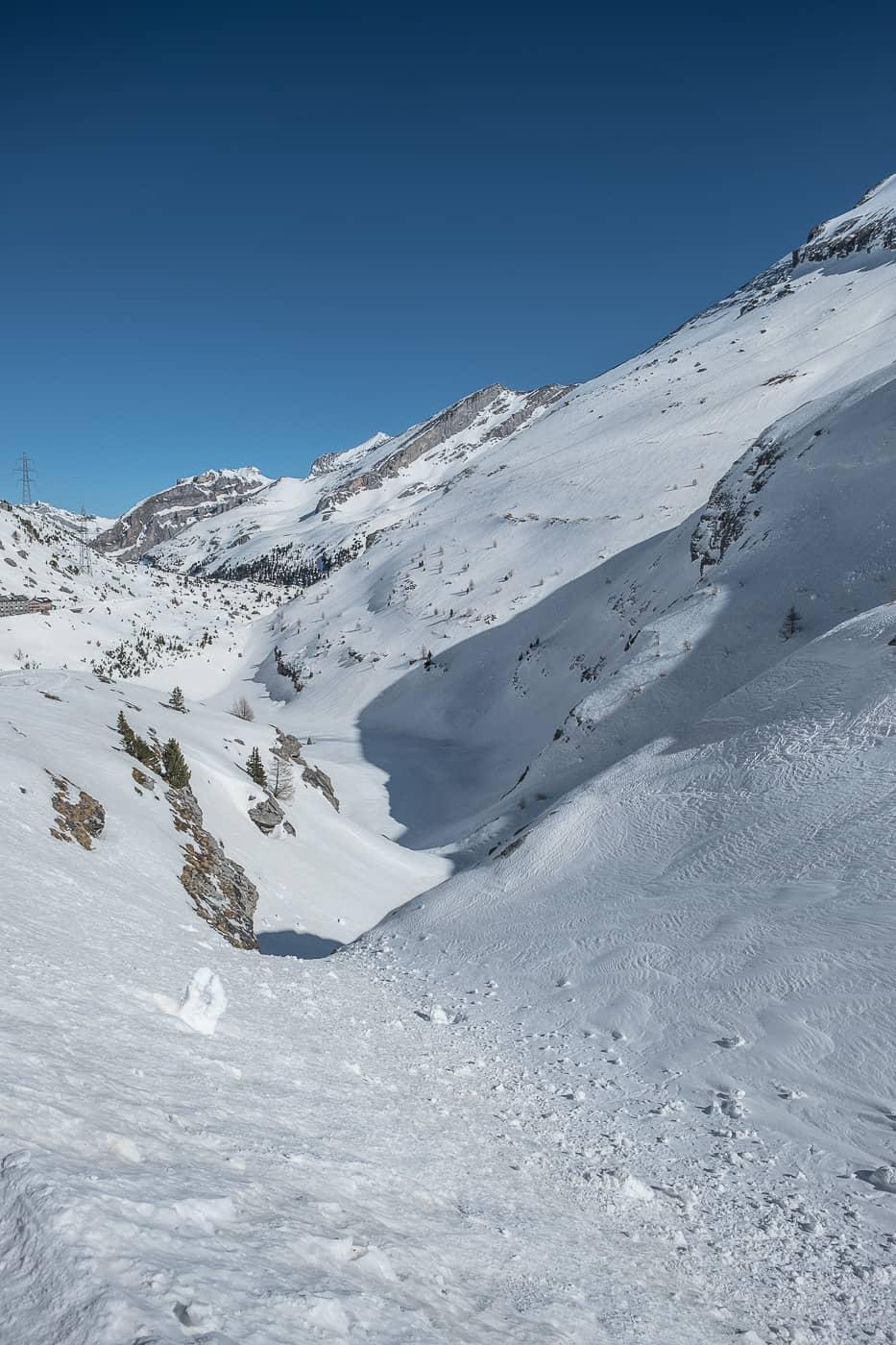 Berglandschaft Schwarenbach