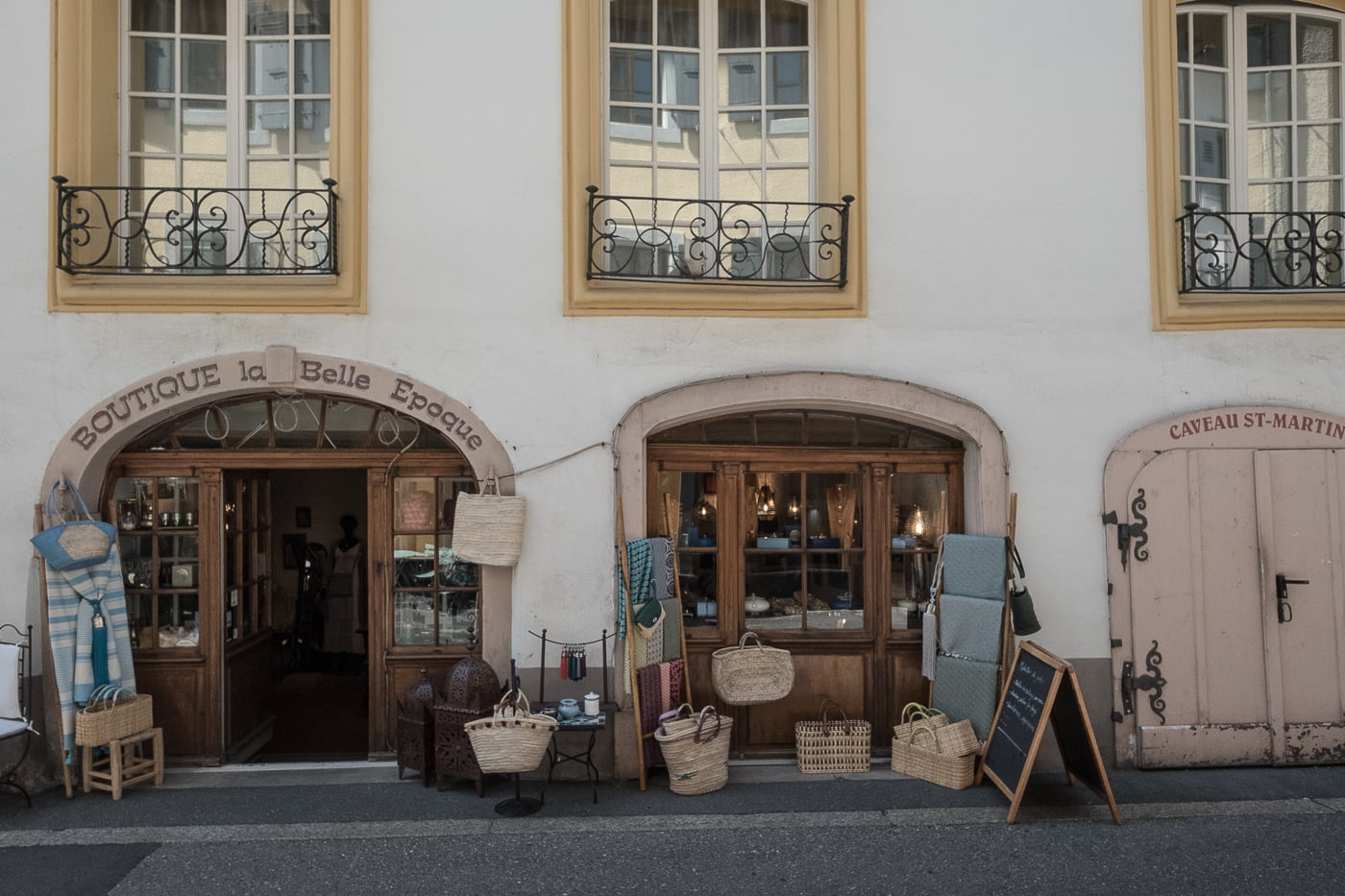 Boutiques in Vevey