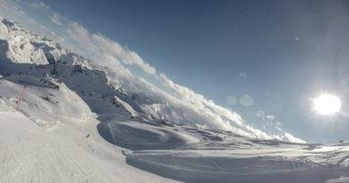 Ein schöner Skitag in Davos Parsenn