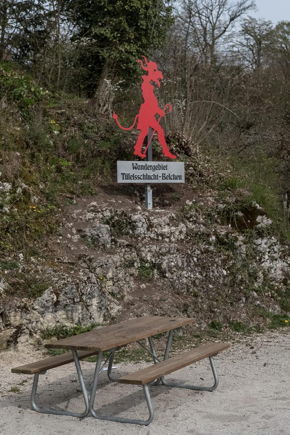Eingang Teufelsschlucht Hägendorf