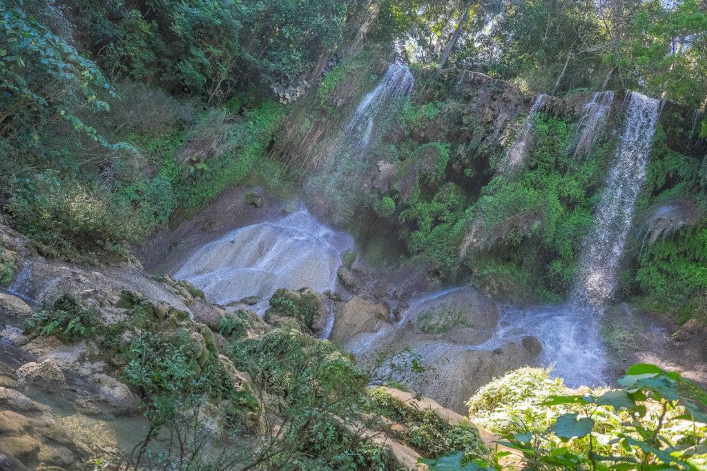 Waterfalls El Nicho Cuba