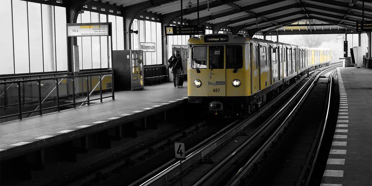 U-Bahn in Berlin Deutschland