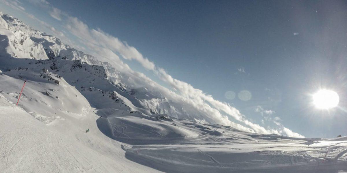 Snowboardtag in Davos