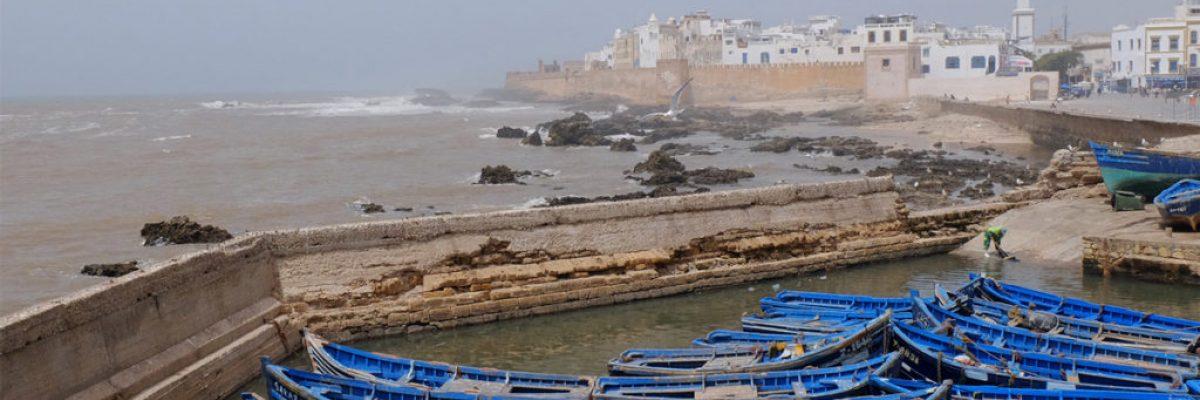 Essaouira Hafen in Marokko