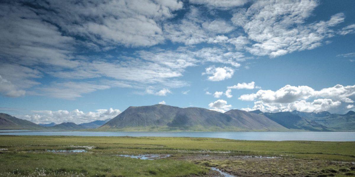 landschaft fjord snaefellsnes island