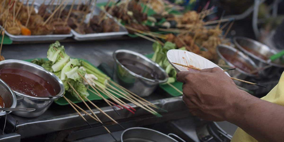 Streetfood in Georgetown Malaysia