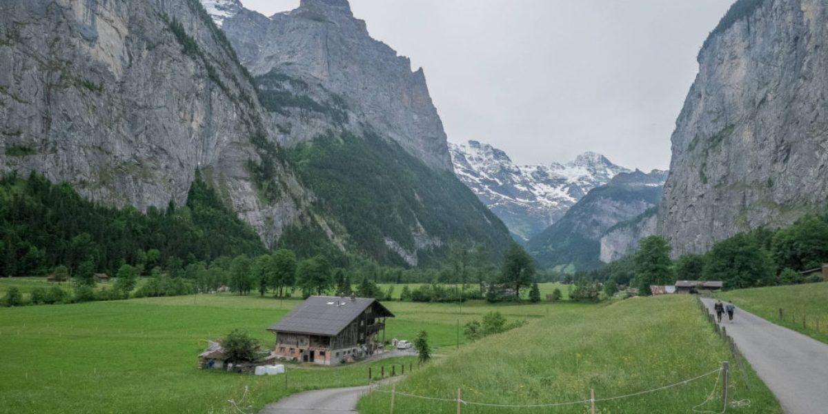 Lauterbrunnen und sein Tal