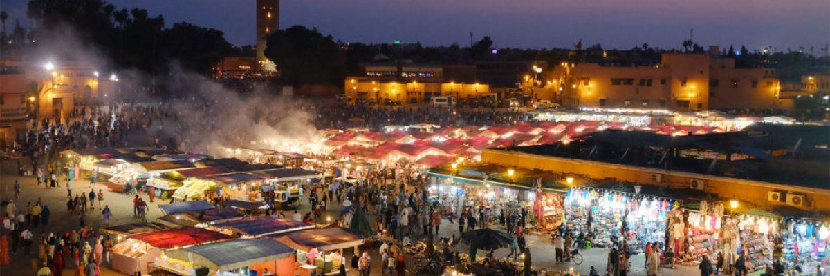 Marrakesh Nightlife Marokko
