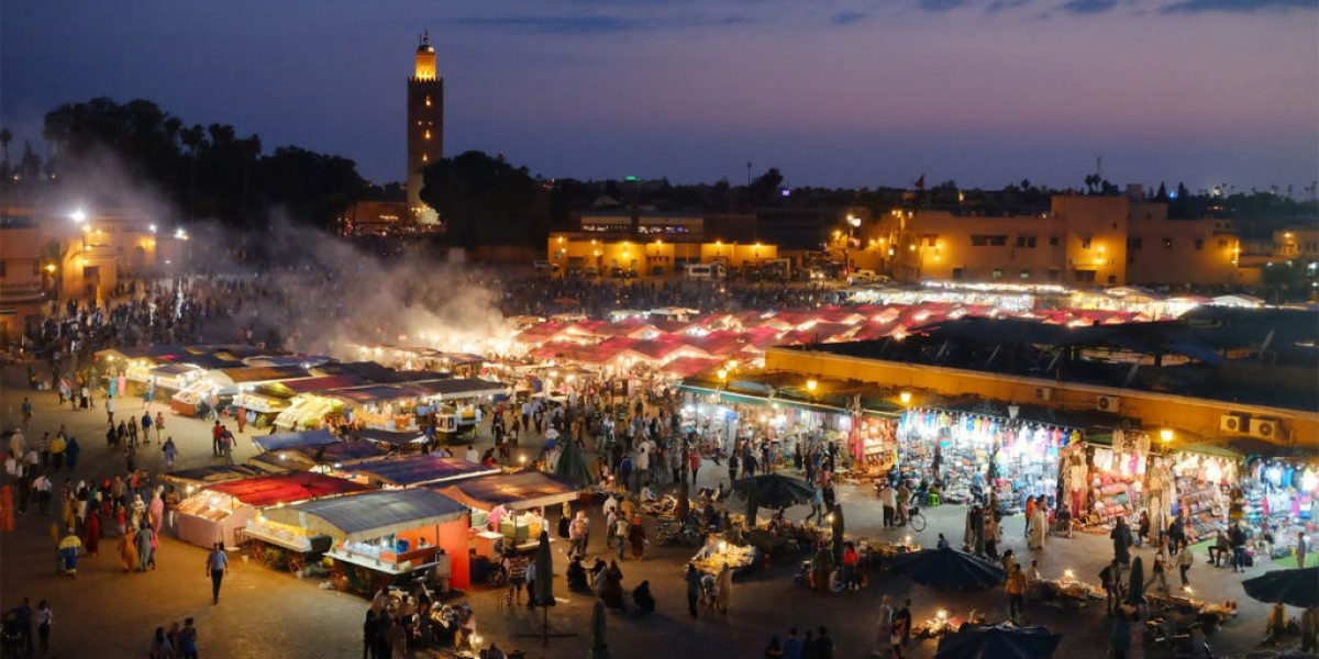 Marrakesh Nightlife Marokko