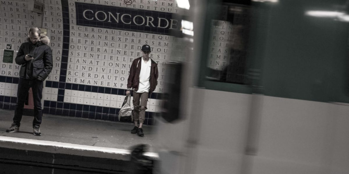 Paris Metro Concorde