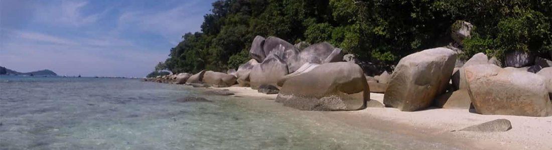 Beach von Perhentians Islands in Malaysia