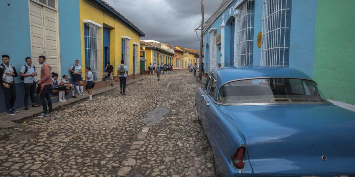 Colours in Trinidad Cuba