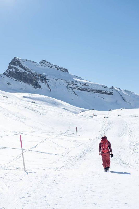 Winterwanderung zum Gemmipass