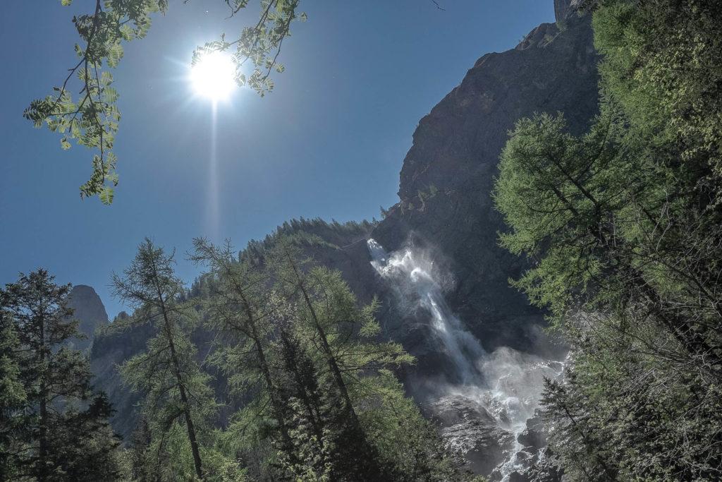 Engstligenfälle - die zweithöchsten Wasserfälle der Schweiz
