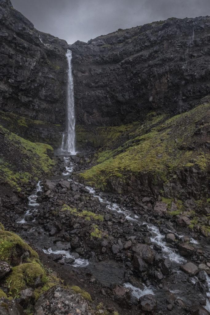 Flögufoss Wasserfall