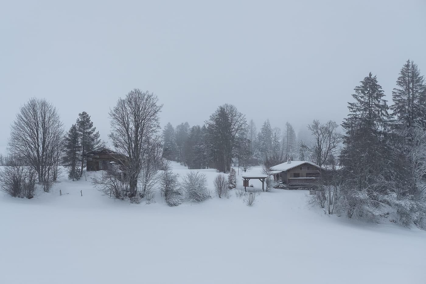 Freiberge Jura im Winter